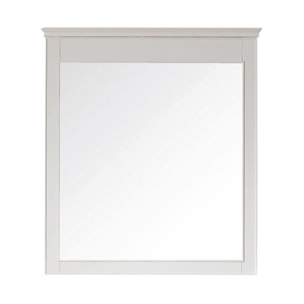Windsor 24 Inch Mirror in White Finish