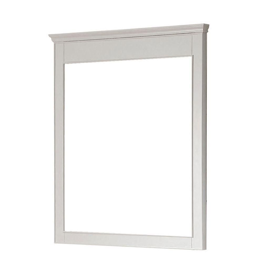 Windsor 30 Inch Mirror in White Finish