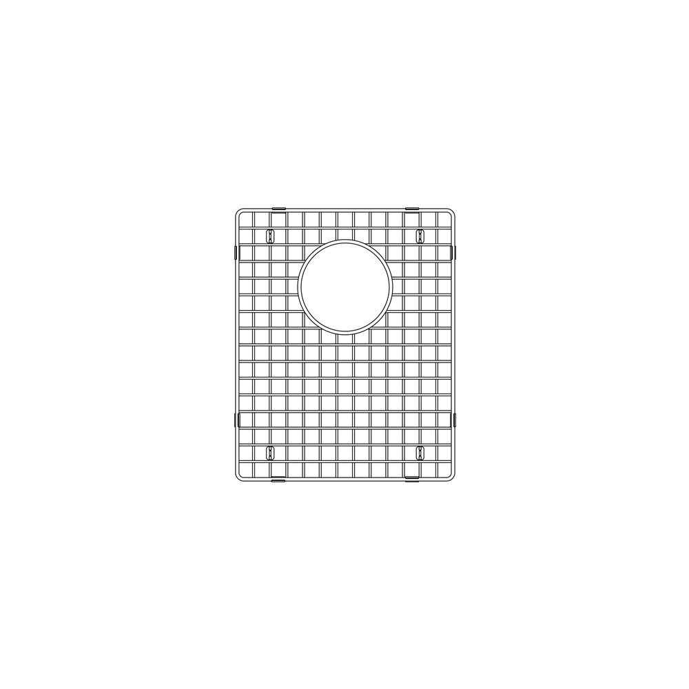 Blanco Wave Supreme Sink Grid Stainless Steel The Home