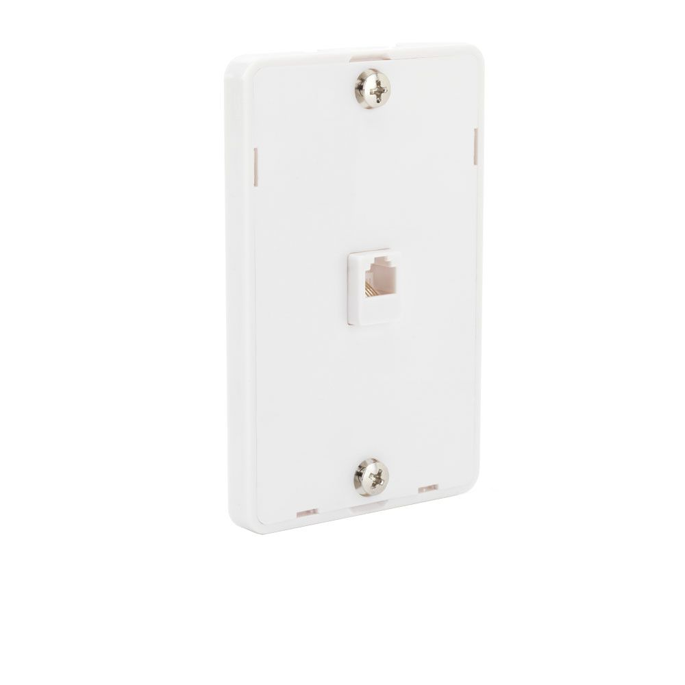 Telephone Wall Mount in White