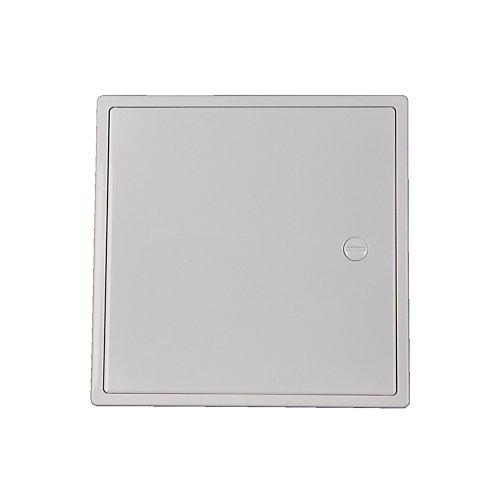 6 X 6 Inch Plastic Access Panel With Door Hinge Feature