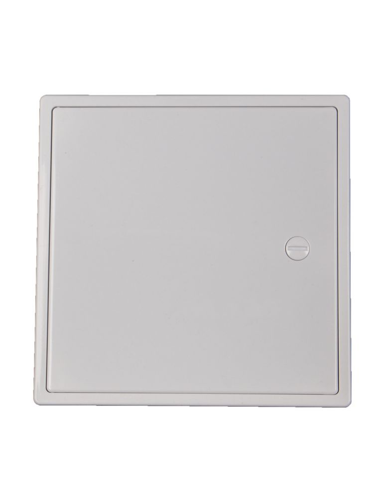 6 X 6 Inch Plastic Access Panel With Door Hinge Feature