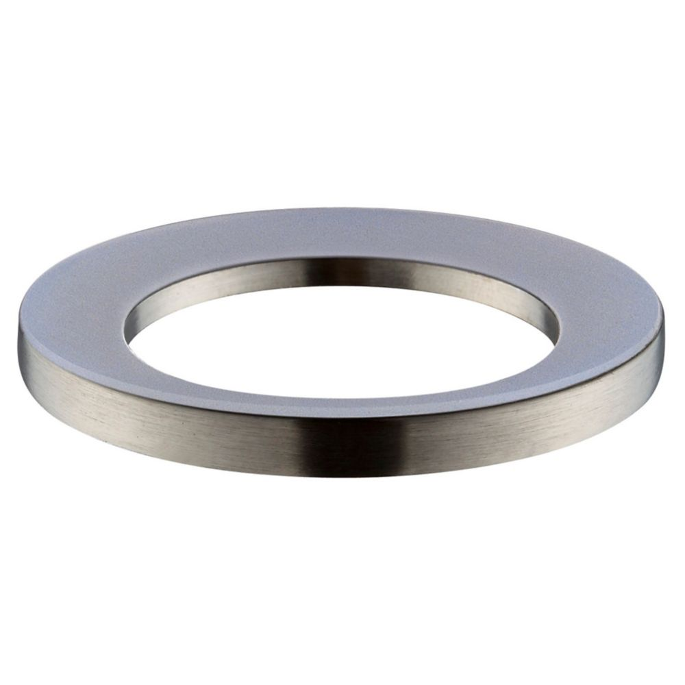 Vessel Sink Mounting Ring in Brushed Nickel
