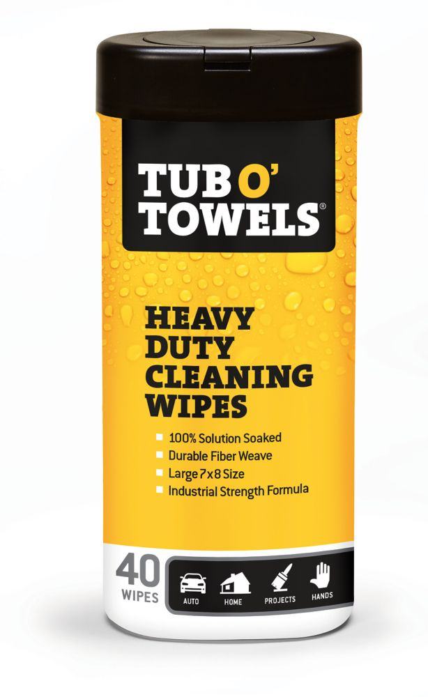 40-Count Multi-Purpose Heavy Duty Cleaning Wipes