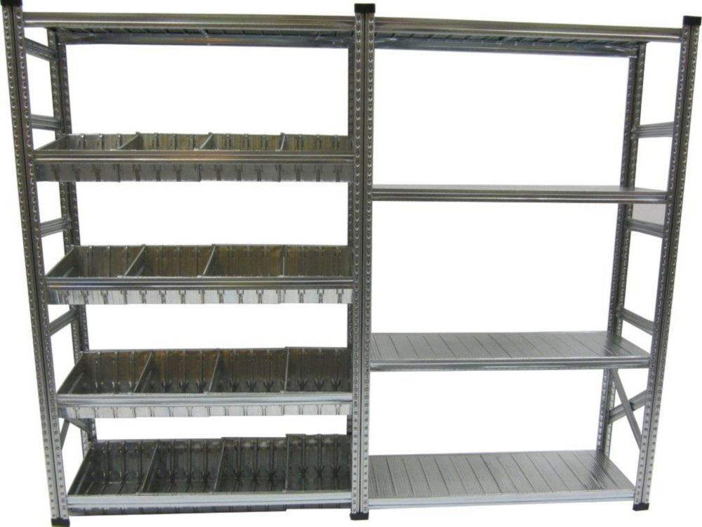 heavy duty shelving home depot metalsistem heavy duty stater and addon shelving kit with 16246