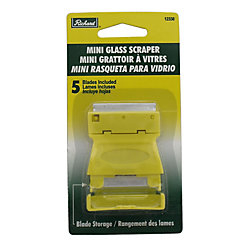 A. Richard Mini Glass Scraper W/5 Blade Storage