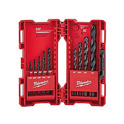 Milwaukee Tool Black Oxide Thunderbolt 135 Split Point Kit (14-Piece)