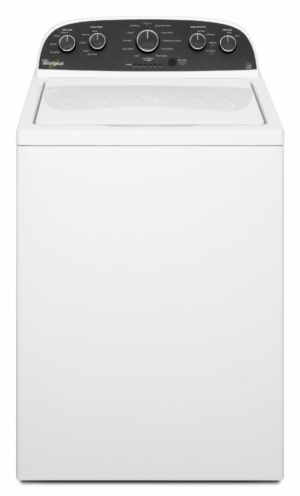 HE Top Load Washer 4.4 Cu.Ft. - WTW4900BW