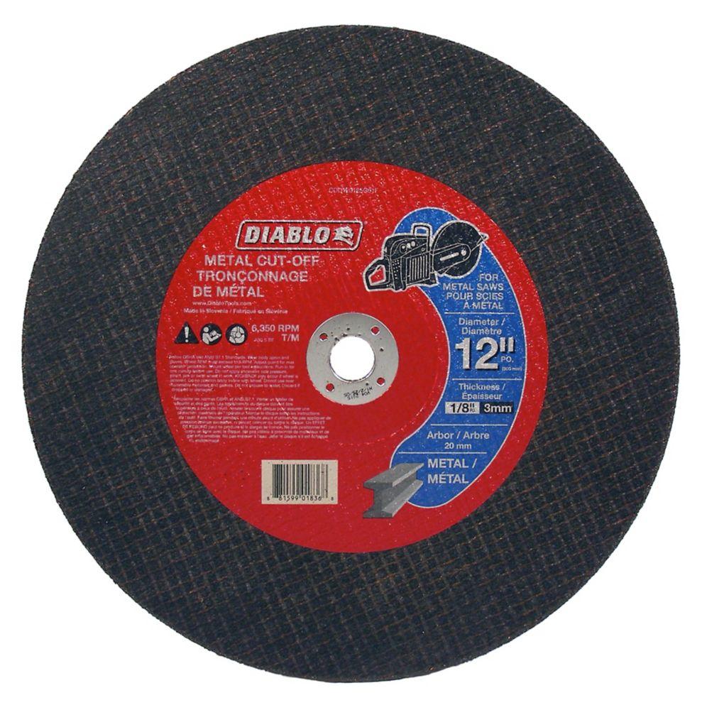 Diablo High-Speed Cut-Off Disc 12 x 1/2