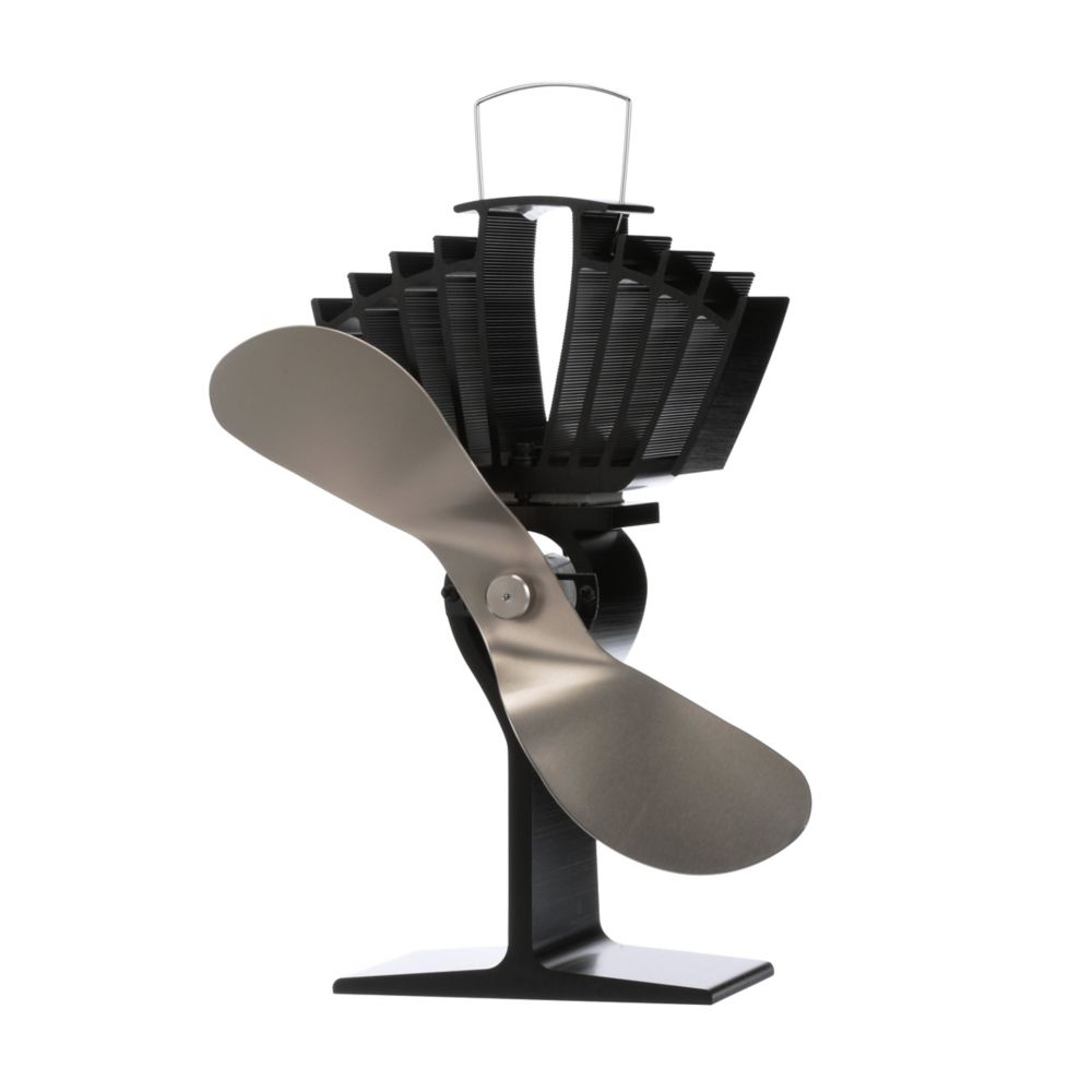 Ecofan AirMax Heat Powered Stove Fan Nickel