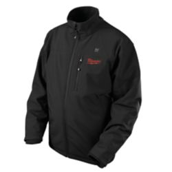 Milwaukee Tool M12 Jacket chauffant sans fil noire - Doubles Extra-Large