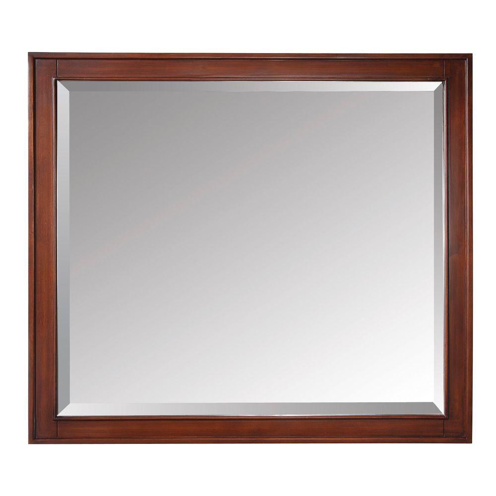 Madison 36 Inch Mirror in Tobacco Finish