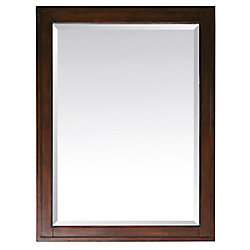 Avanity Madison 28 Inch Mirror in Tobacco Finish