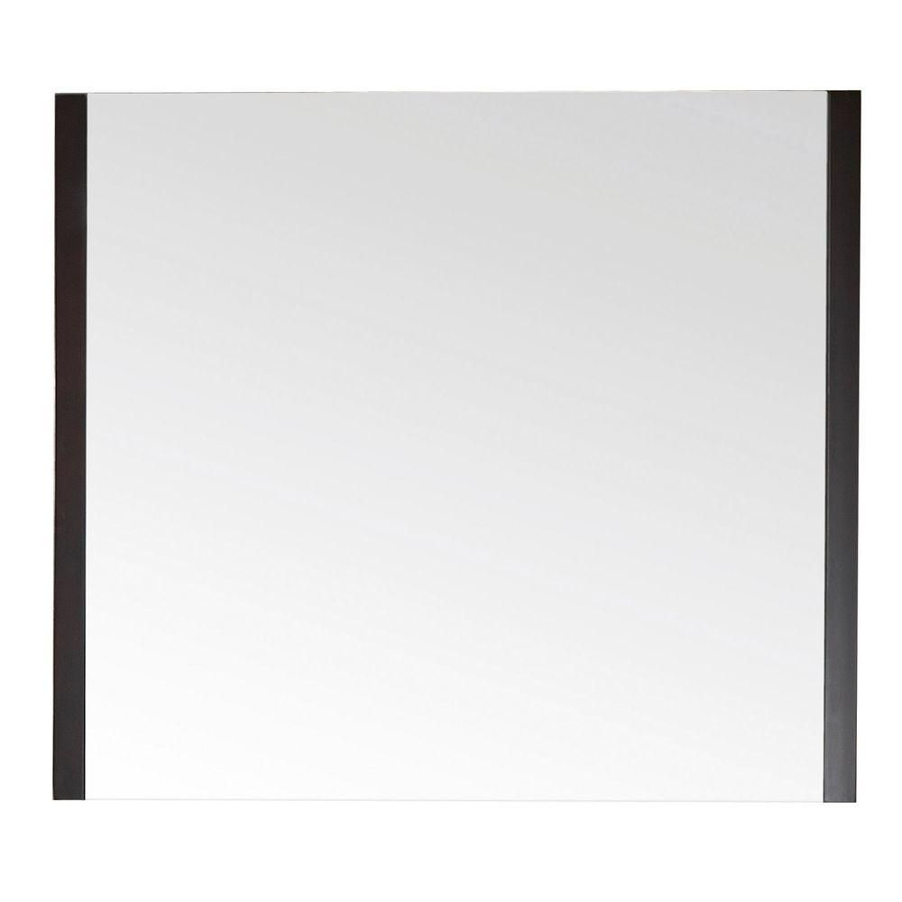 Loft 36 Inch Mirror in Dark Walnut Finish LOFT-M36-DW Canada Discount
