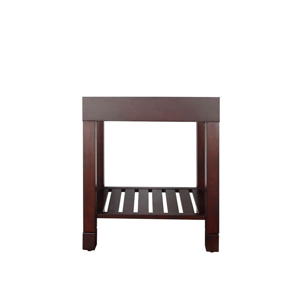 Loft 30-Inch  Vanity Cabinet in Dark Walnut