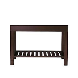 Avanity Loft 48-inch W Freestanding Vanity in Brown