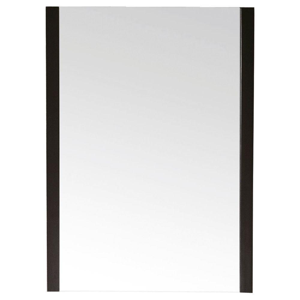 Loft 23 Inch Mirror in Dark Walnut Finish