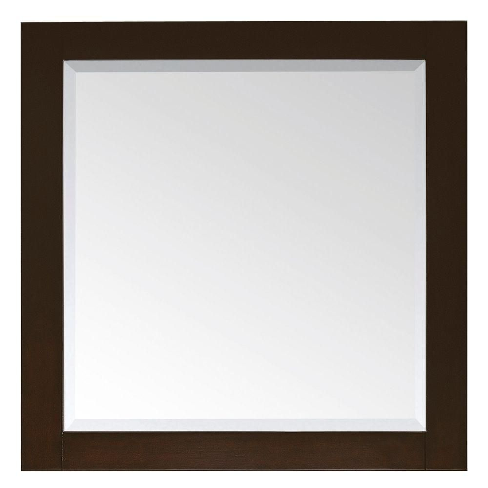 Lexington 36 Inch Mirror in Light Espresso Finish