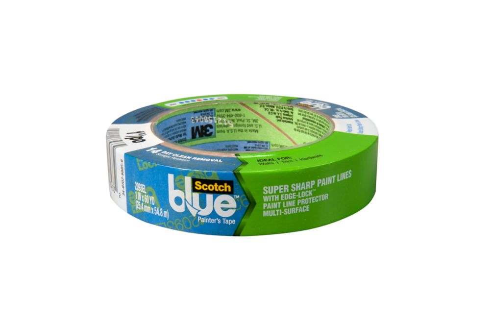 ScotchBlue Painter's Tape with  Edge Lock 24mm