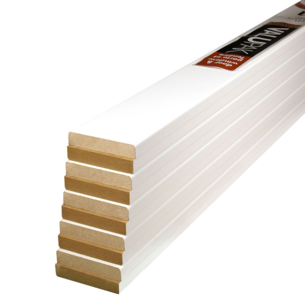 Primed Fibreboard Casing 1/2 In. x 2-1/2 In. ValuPAK (10 Pieces)