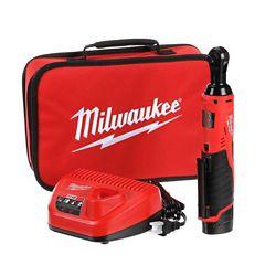 Milwaukee Tool Ensemble de clé à cliquet sans fil M12 de 3/8po