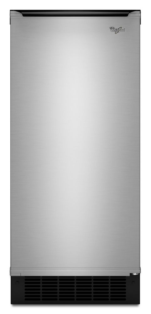 15-inch 50 lb. Freestanding or Built-In Icemaker in Stainless Steel