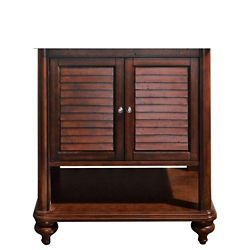 Avanity Tropica 30-inch  Vanity Cabinet in Antique Brown