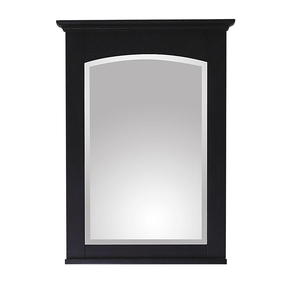 Westwood 24 X 33 Inch Mirror in Dark Ebony Finish