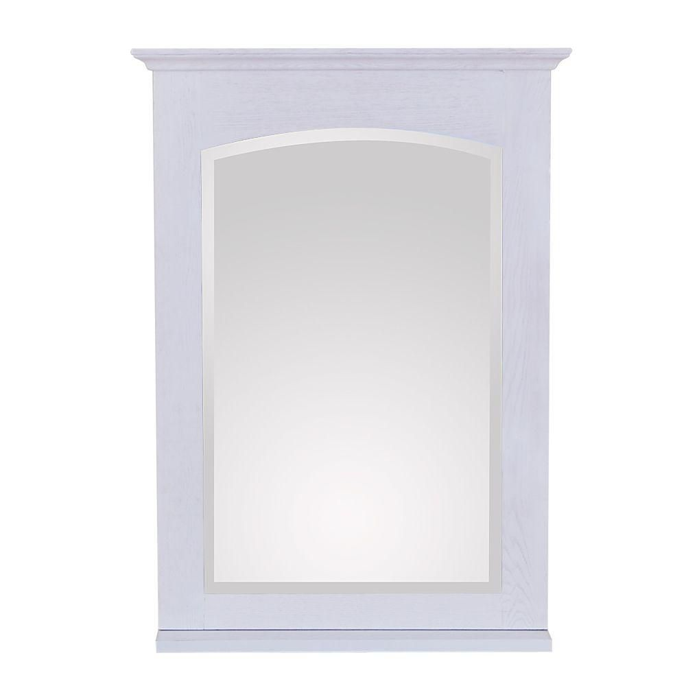 Westwood 24 X 33 Inch Mirror in White Washed Finish