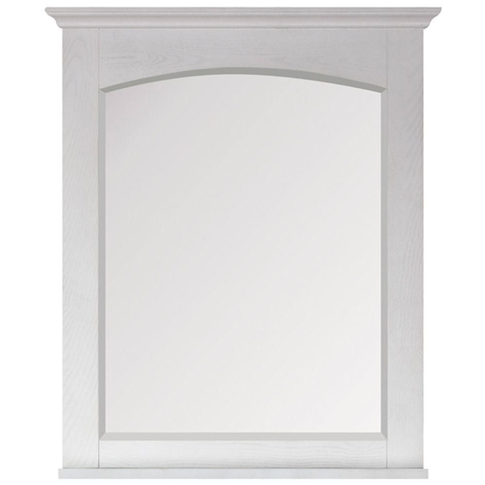 Westwood 28 X 33 Inch Mirror in White Washed Finish