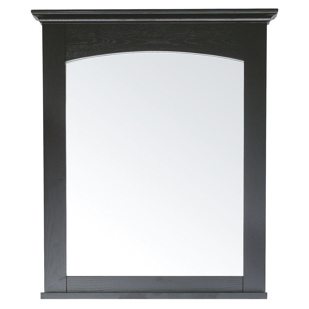 Westwood 28 X 33 Inch Mirror in Dark Ebony Finish