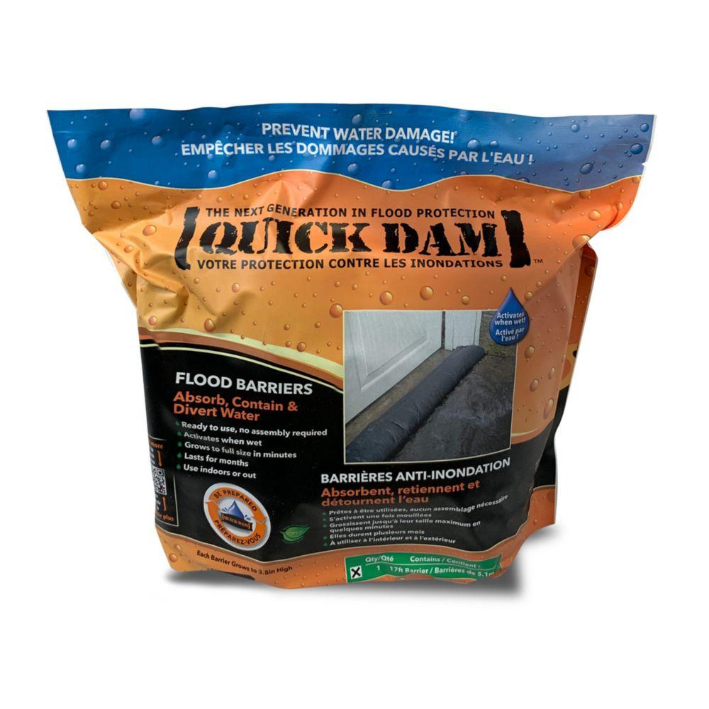 Quick Dam 17 ft. Flood Barrier 1/Pack