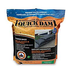 Quick Dam Sacs contre les inondations 6/pc