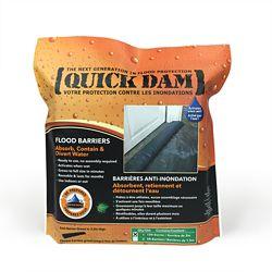 Quick Dam 10 Ft Flood Barrier 1/Pack