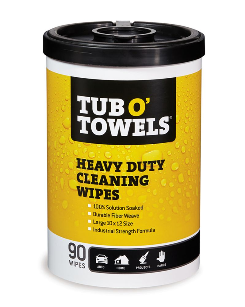 90-Count Multi-Purpose Heavy Duty Cleaning Wipes