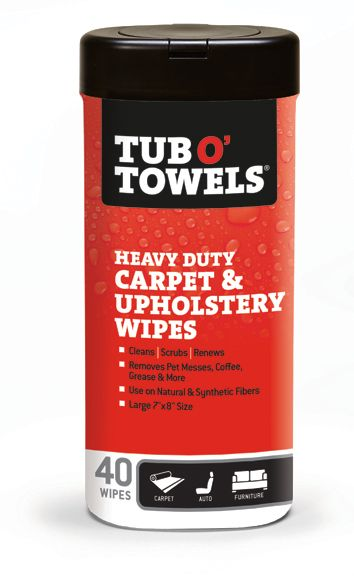 Carpet & Upholstery Scrubbing Wipes