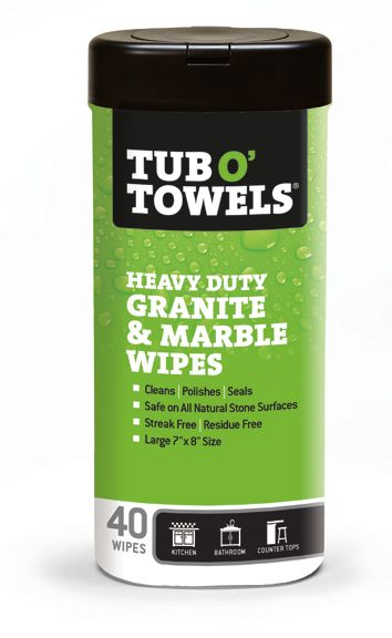 Granite & Marble Cleaning & Polishing Wipes