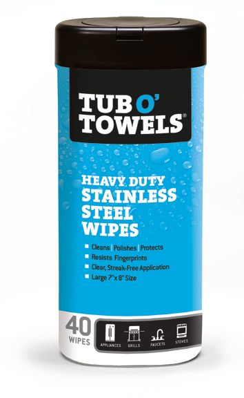 Stainless Steel Cleaning & Polishing Wipes