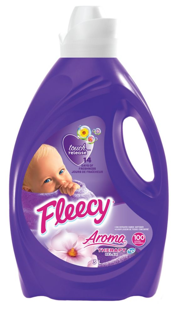 Fleecy Liquid Fabric Softener, Aroma Therapy Relax 3L