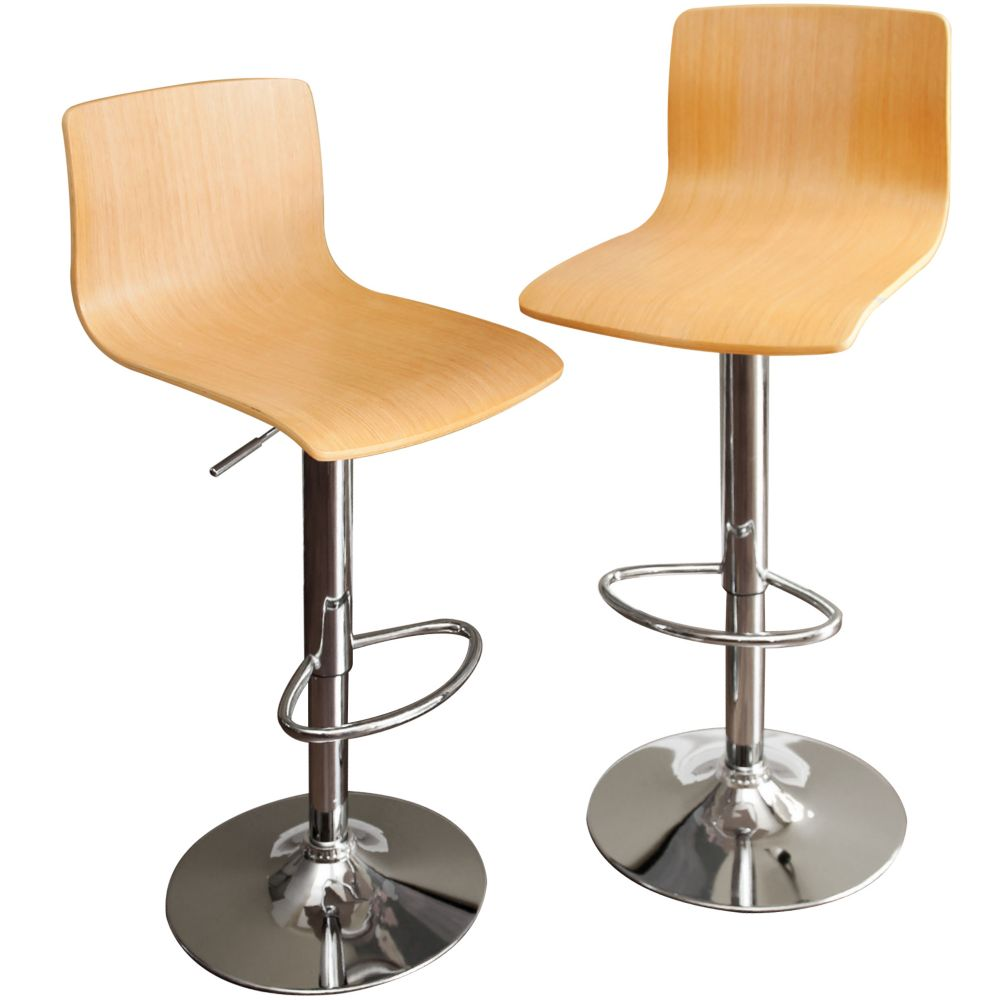 MELROSE Maple Barstool - 2pk IP-BST4006-2M in Canada