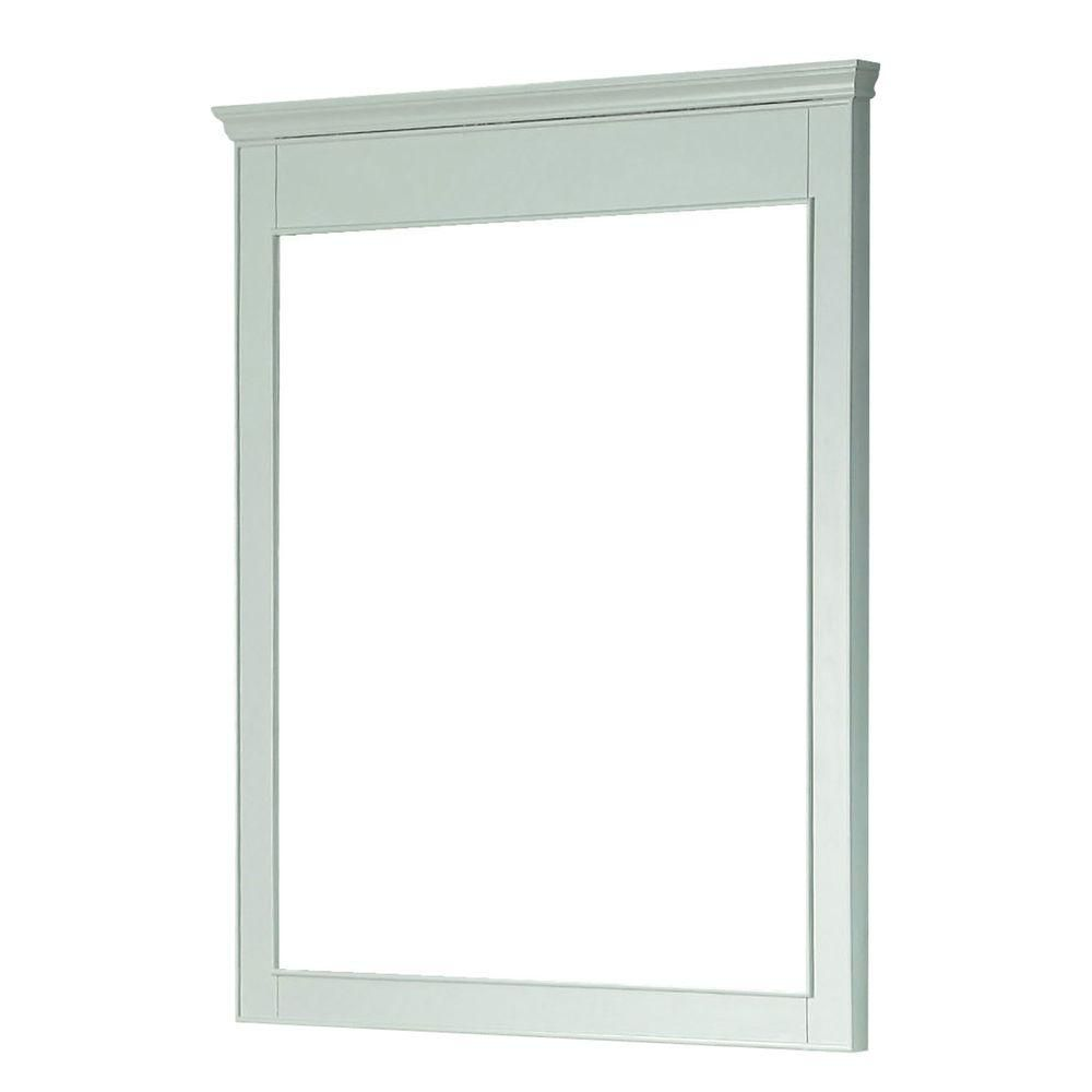 Windsor 34 Inch Mirror in White Finish