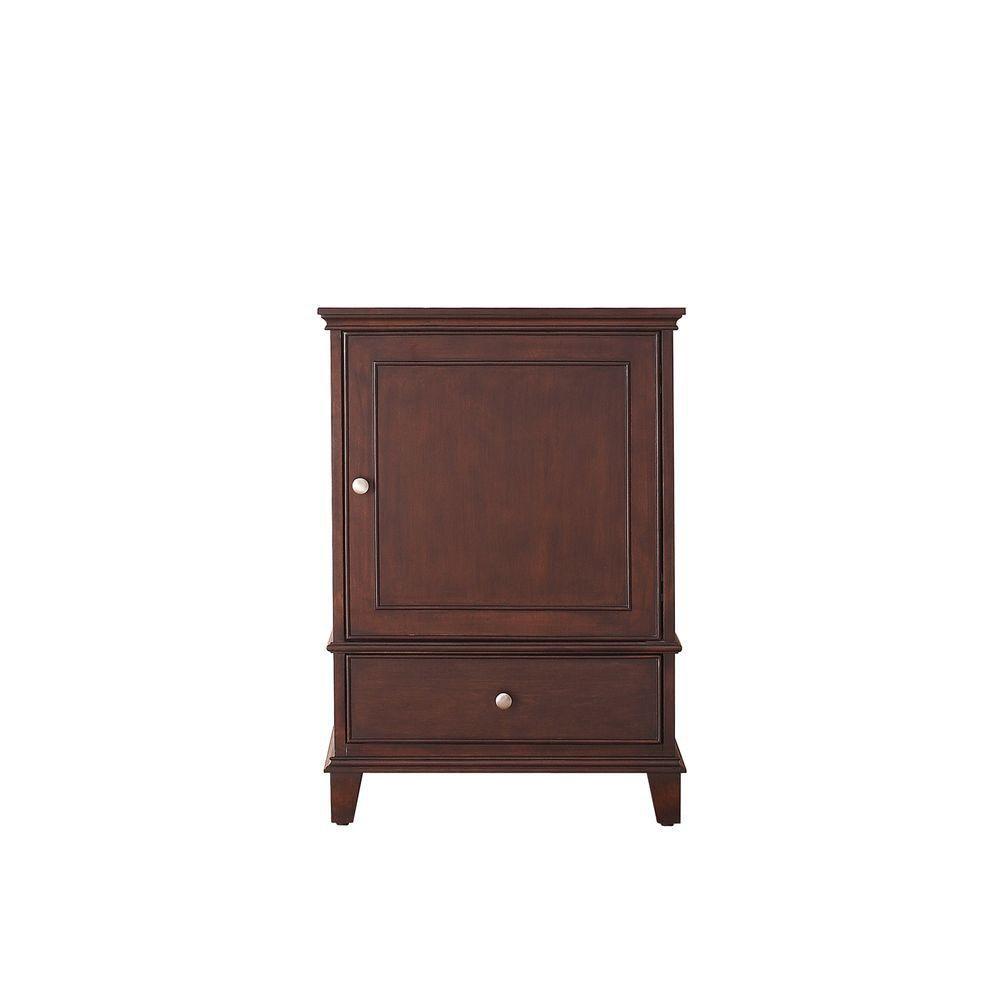 Windsor 24-Inch  Vanity Cabinet in Walnut