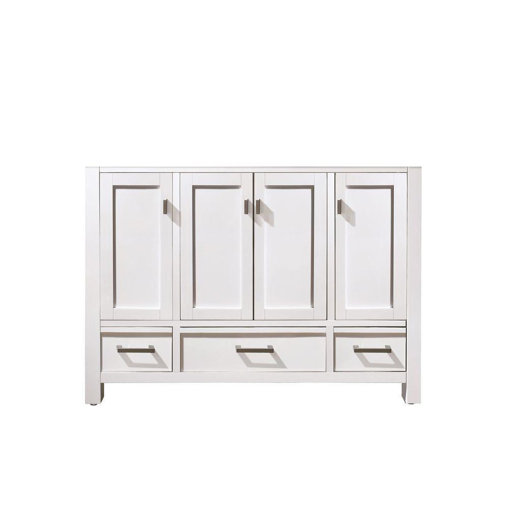 Modero 48-Inch  Vanity Cabinet in White