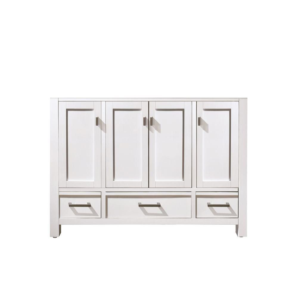 Avanity Modero 48-Inch  Vanity Cabinet in White