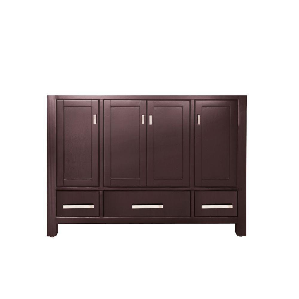 Avanity Modero 48-Inch  Vanity Cabinet in Espresso