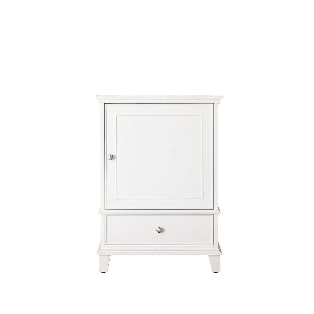 Meuble-lavabo Windsor de 24 po blanc (Robinet non inclus)