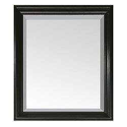 Avanity Miroir Milano de 30po noir