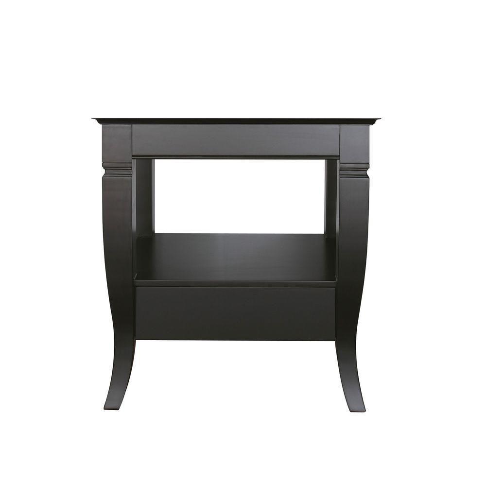 Avanity Milano 30-Inch  Vanity Cabinet in Black
