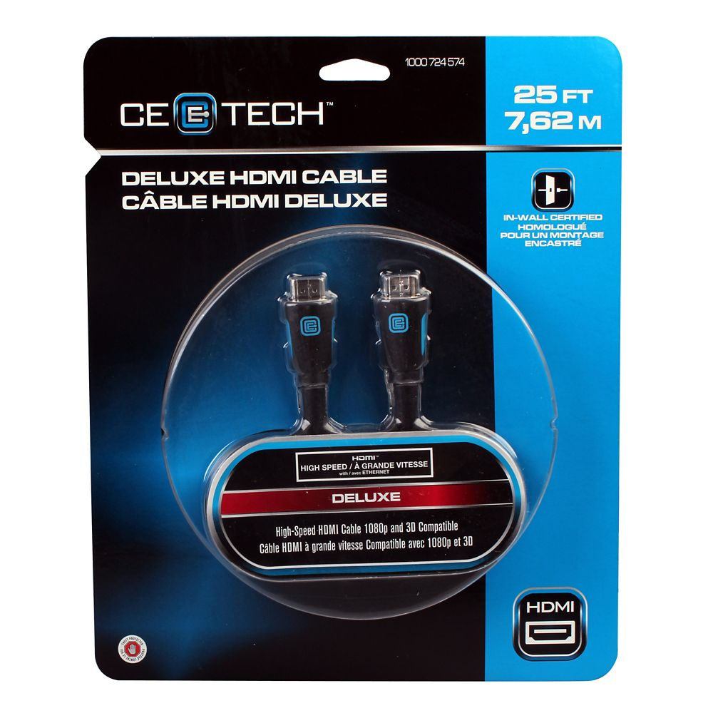 25 Feet Deluxe HDMI Cable
