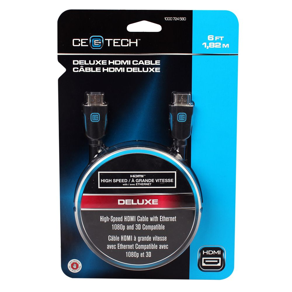 6 Feet Deluxe HDMI Cable